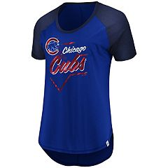 Women's Majestic Chicago Cubs Shake Up Tee