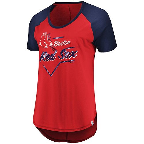 Women's Majestic Boston Red Sox Shake Up Tee