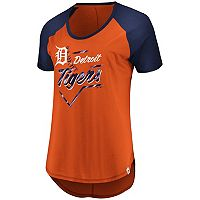Women's Majestic Detroit Tigers Shake Up Tee