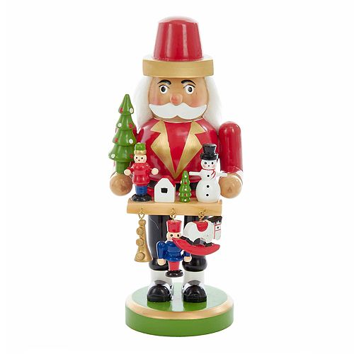 Kurt Adler Toymaker Nutcracker Christmas Table Decor