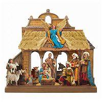 Kurt Adler Nativity Scene Christmas Table Decor