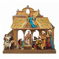 Kurt Adler Nativity Scene Christmas Table Decor