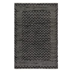 Fab Habitat Allure Chevron Recycled Cotton Rug