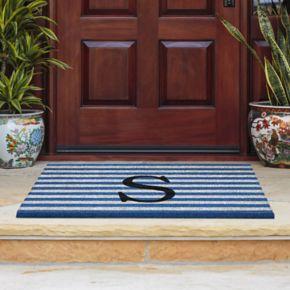 Fab Habitat Monogram Coir Doormat - 18'' x 30''