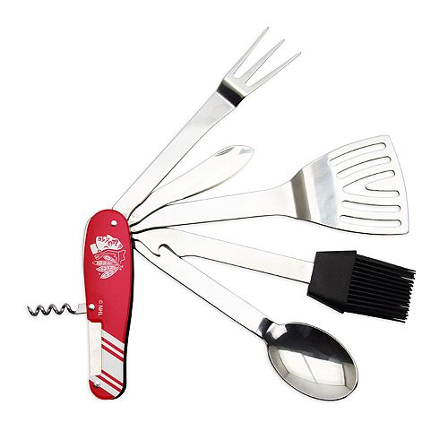 Chicago Blackhawks BBQ Multi Tool