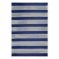 Fab Habitat Mariona Striped PET Indoor Outdoor Rug