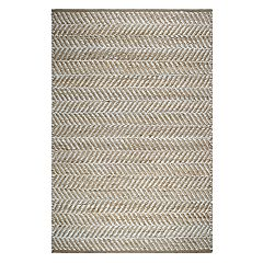 Fab Habitat Heartland Canyon Striped Jute Rug
