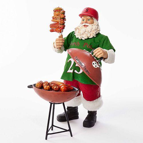 Kurt Adler Grill Master Santa Christmas Table Decor