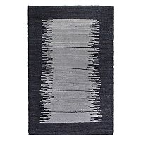 Fab Habitat Metro Bryce Abstract Striped Jute Rug