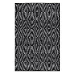 Fab Habitat Zen Geometric Recycled Cotton Rug