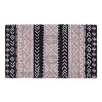 Fab Habitat Tribal Essence Geometric Coir Doormat - 18'' x 30''