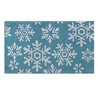 Fab Habitat Snowfall Coir Doormat - 18'' x 30''