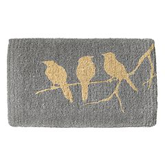 Fab Habitat Birds on Branch Coir Doormat