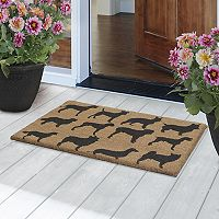 Fab Habitat Ruff Party Dogs Coir Doormat - 18'' x 30''