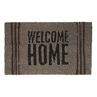 Fab Habitat ''Welcome Home'' Coir Doormat - 18'' x 30''