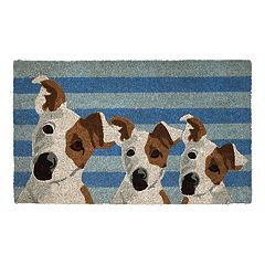 Fab Habitat Furry Friends Coir Doormat - 18'' x 30''