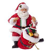 Kurt Adler Santa & Toys Christmas Table Decor