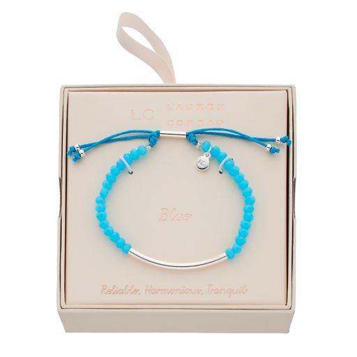 LC Lauren Conrad Beaded Slipknot Bracelet
