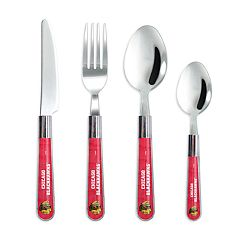 Chicago Blackhawks 16 pc Flatware Set