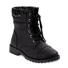 Josmo Girls' Combat Boots