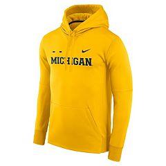 Men's Nike Michigan Wolverines Therma-FIT Hoodie