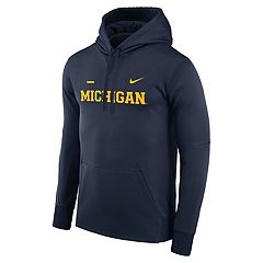 Men's Nike Michigan Wolverines Therma-FIT Hoodie
