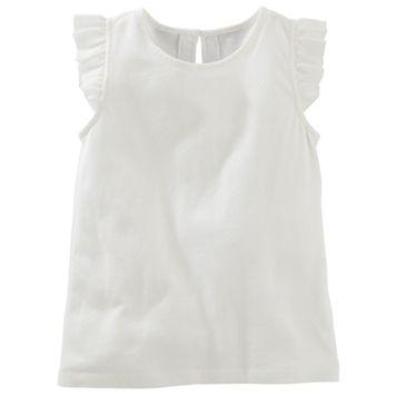 Toddler Girl OshKosh B'gosh® Flutter Sleeve Top