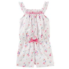 Toddler Girl OshKosh B'gosh® Floral Romper
