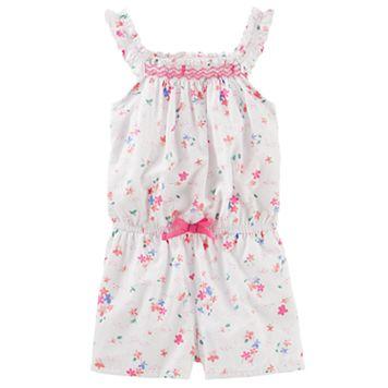 Toddler Girl OshKosh B'gosh® Floral Romper
