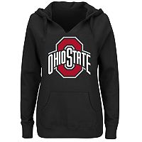 Plus Size Ohio State Buckeyes Notched Hoodie