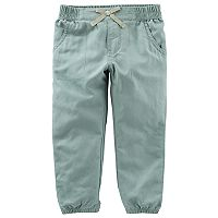 Toddler Girl OshKosh B'gosh® Olive Pants