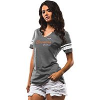 Women's Majestic Denver Broncos Game Tradition Tee