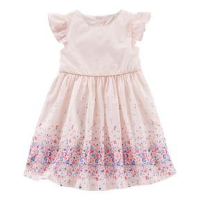 Toddler Girl OshKosh B'gosh® Floral Border Dress
