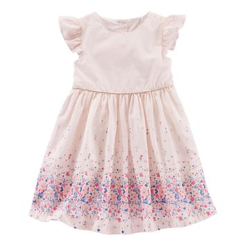 Toddler Girl OshKosh B'gosh® Floral Border Dress