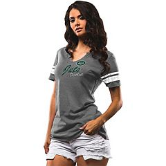 Women's Majestic New York Jets Game Tradition Tee