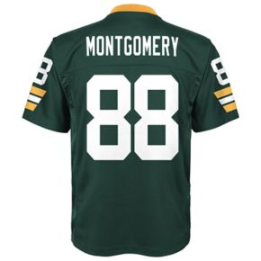 Boys 8-20 Green Bay Packers Ty Montgomery Mid-Tier Jersey