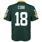 Boys 8-20 Green Bay Packers Randall Cobb Mid-Tier Jersey