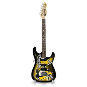 Pittsburgh Penguins Collector Series Mini Replica Electric Guitar