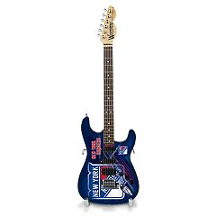 New York Rangers Collector Series Mini Replica Electric Guitar