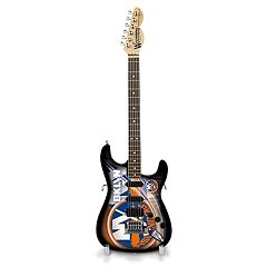 New York Islanders Collector Series Mini Replica Electric Guitar