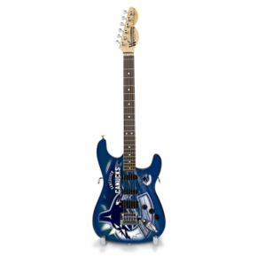 Vancouver Canucks Collector Series Mini Replica Electric Guitar