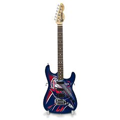 Washington Capitals Collector Series Mini Replica Electric Guitar