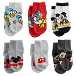 Disney's Mickey Mouse & Friends Toddler 6-Pack Socks