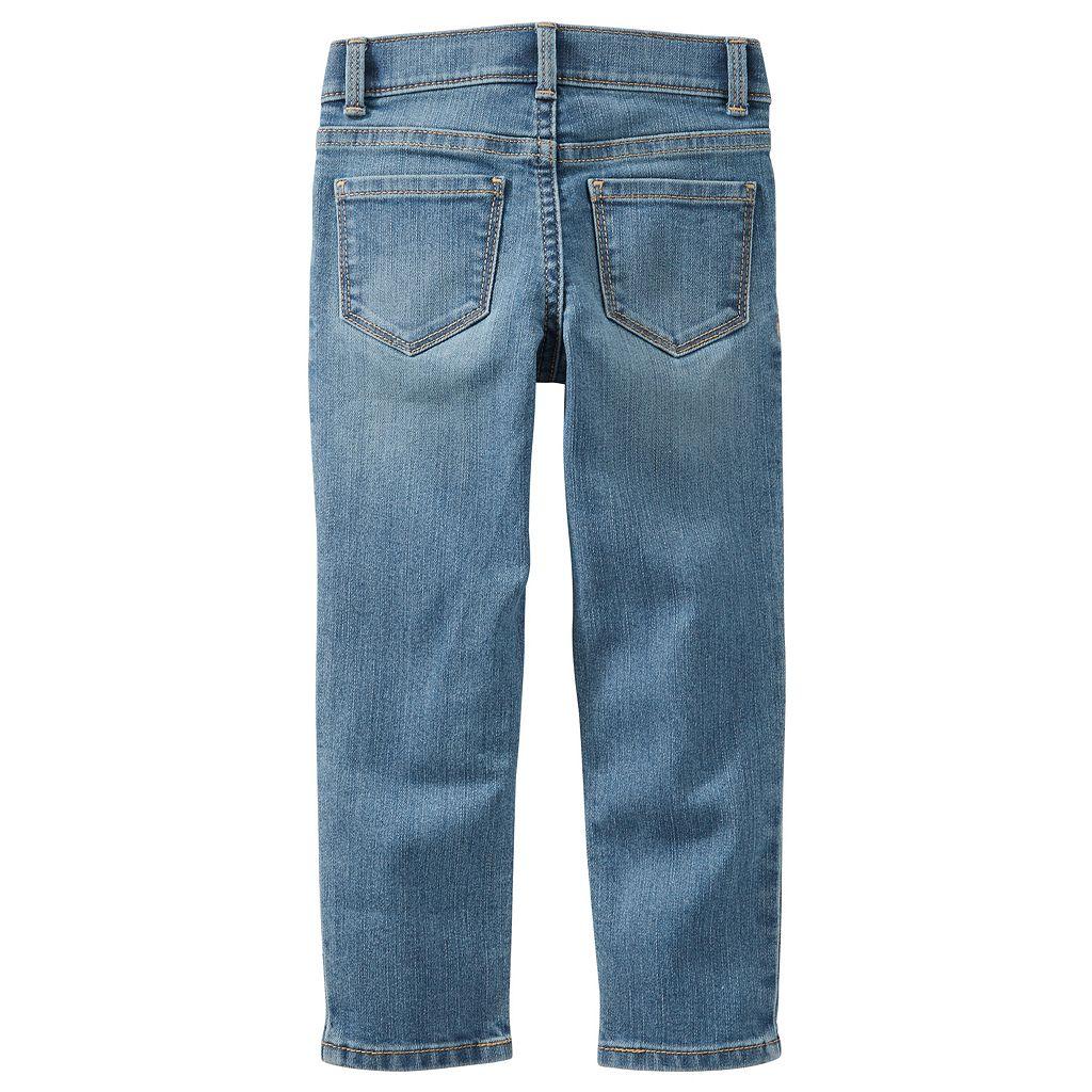 Girls 4-12 OshKosh B'gosh® Stright Fit Jeans