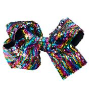 Girls 4-16 JoJo Siwa Rainbow Reversible Sequin Bow