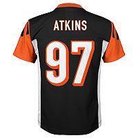 Boys 8-20 Cincinnati Bengals Geno Atkins Mid-Tier Jersey