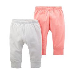 Baby Girl Carter's 2-Pack Solid Pants
