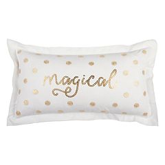 Rizzy Home 'Magical' II Oblong Throw Pillow