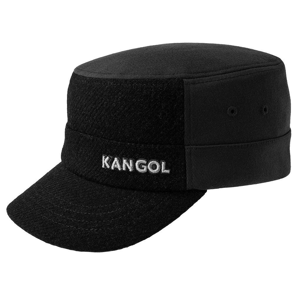 Men's Kangol Flexfit Textured Wool-Blend Army Cap