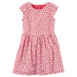 Toddler Girl Carter's Heart Print Dress